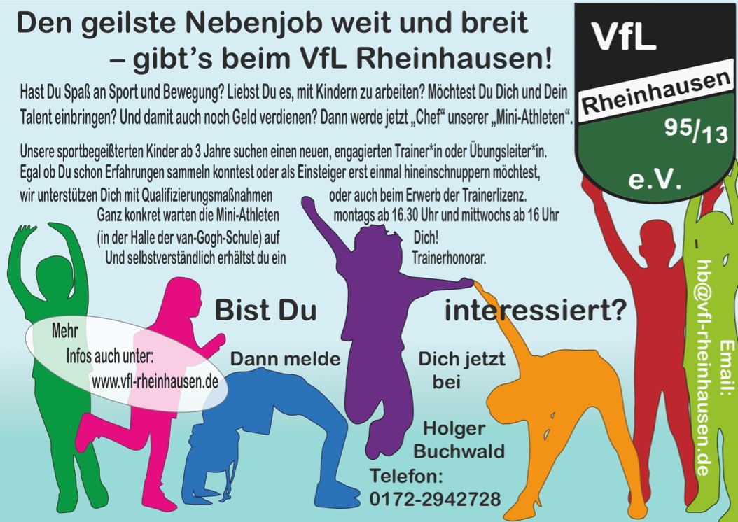 Der geilste Nebenjob Rheinhausens! - VfL Rheinhausen